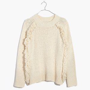 NWT Madewell Loop Edge Pullover Sweater